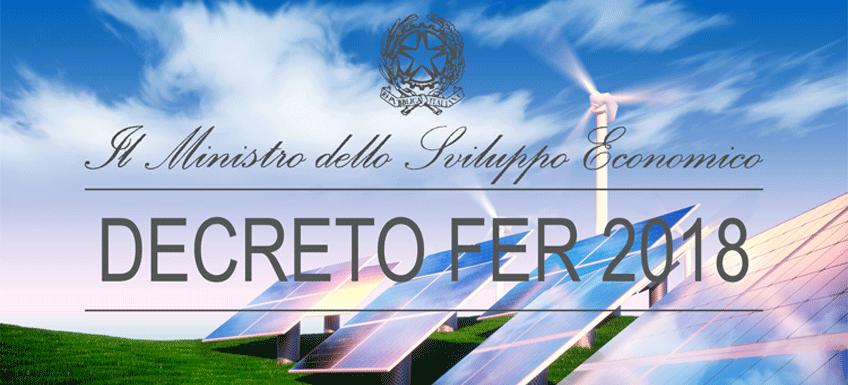 Un nuovo Decreto per un'Italia rinnovabile al 100% entro il 2050