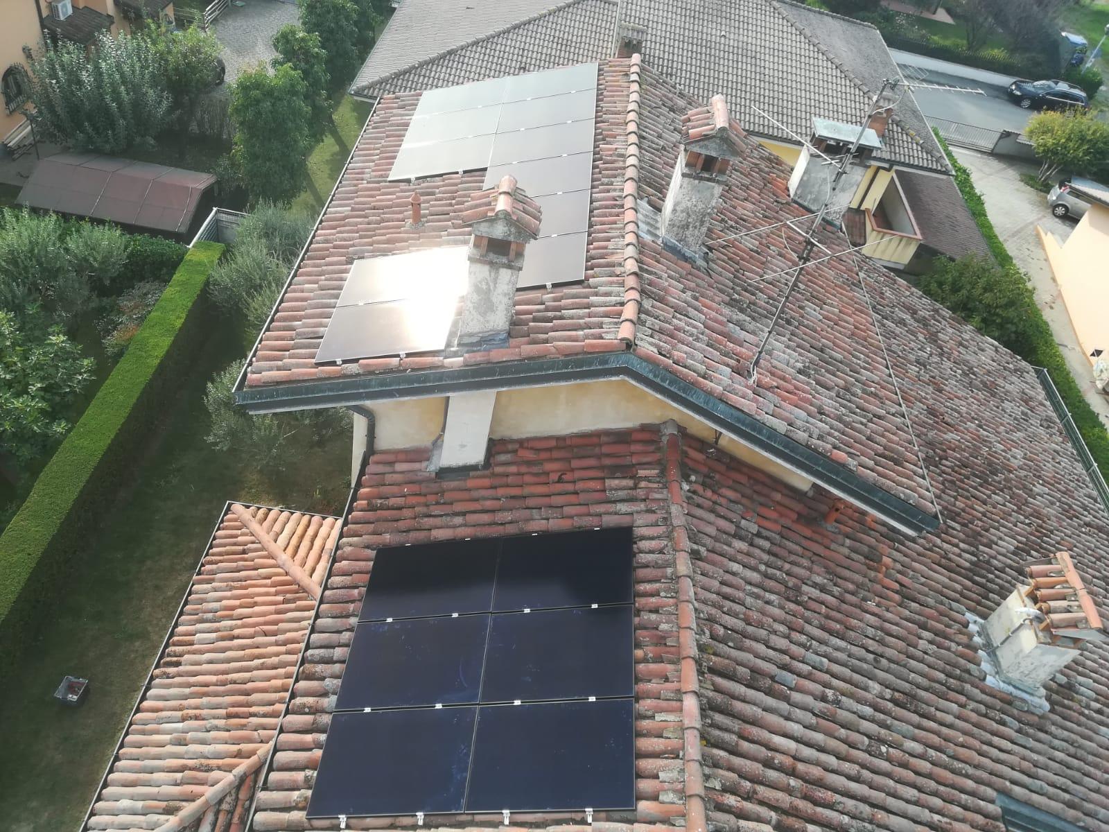 Installazione impianto fotovoltaico SunPower da 5,95 kWp a Somaglia (LO)