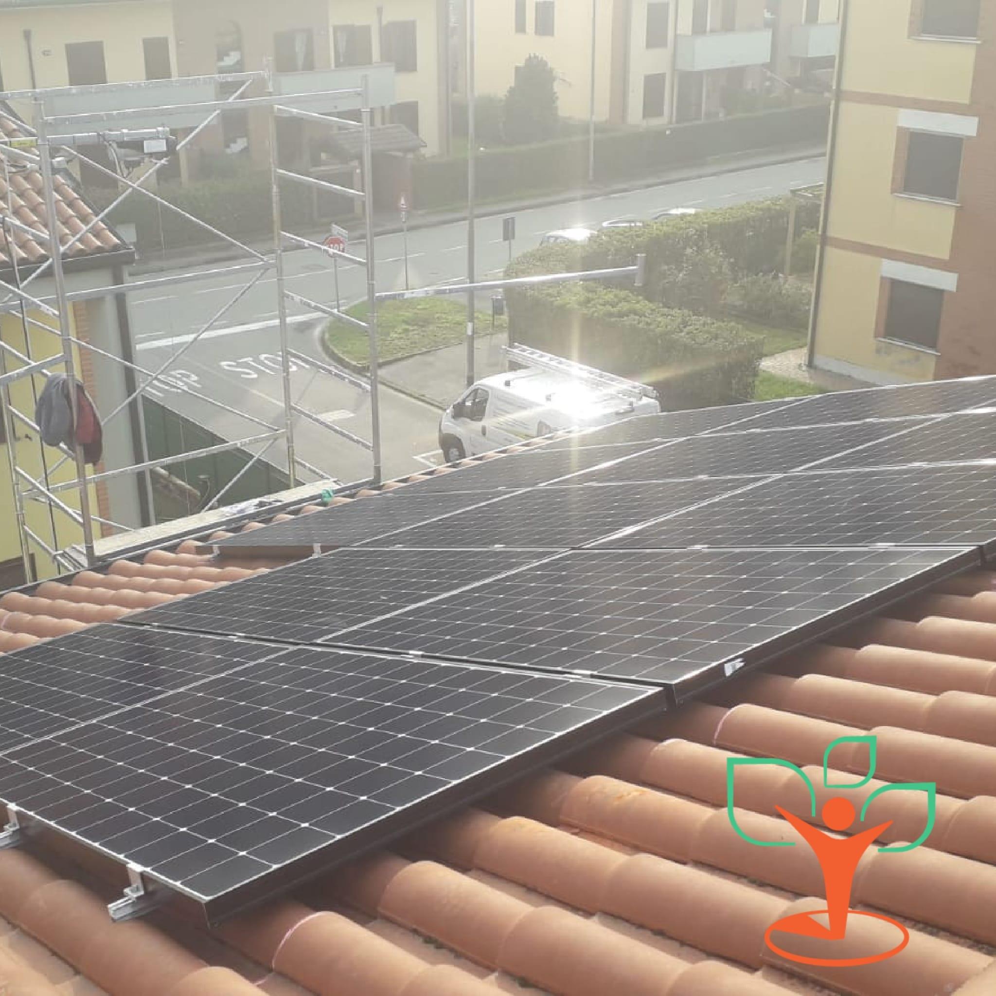 Installazione impianto fotovoltaico SunPower da 4,2 kWp a Dresano (MI)