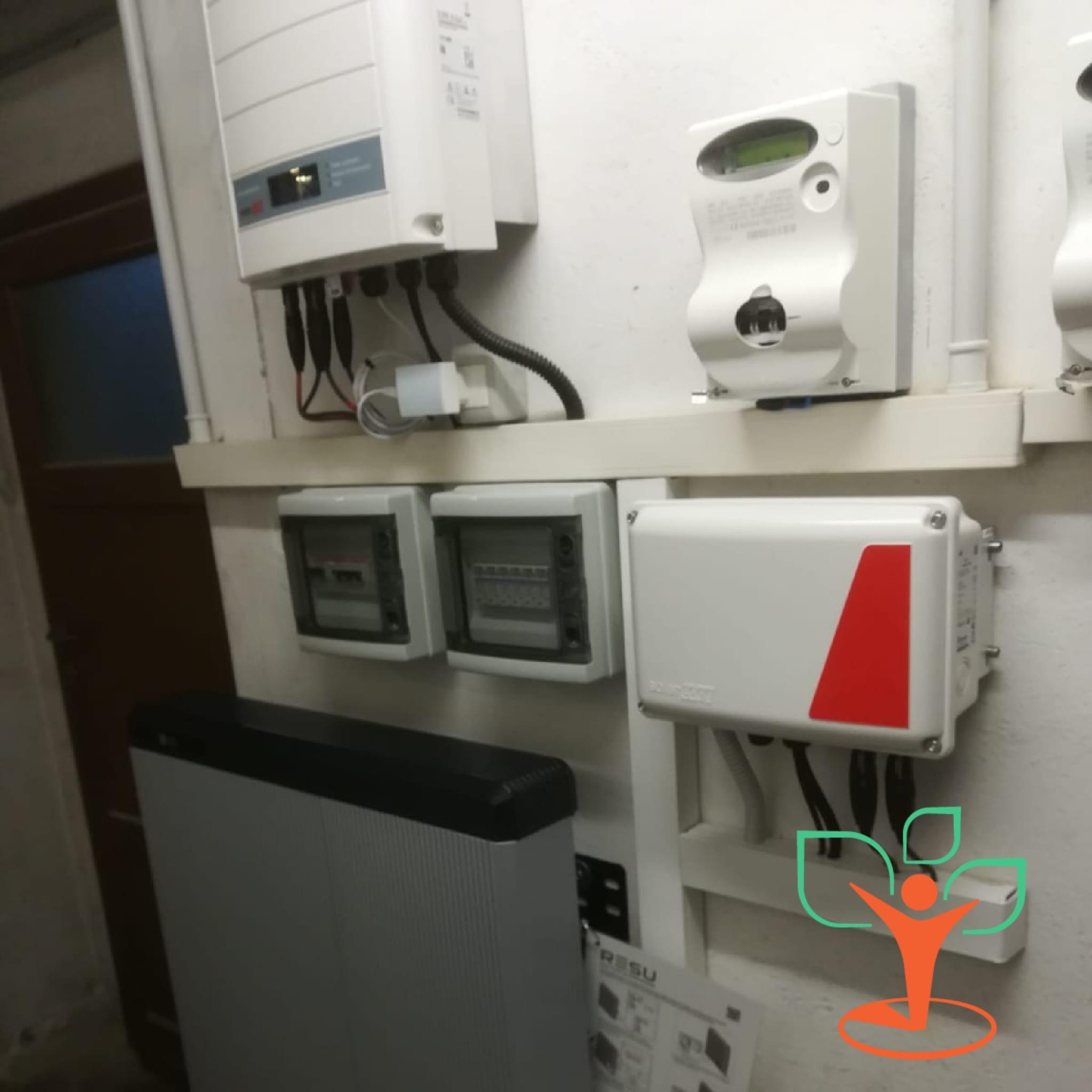 Installazione LG Chem resu 10h  su impianto fotovoltaico esistente – Lodi (LO)