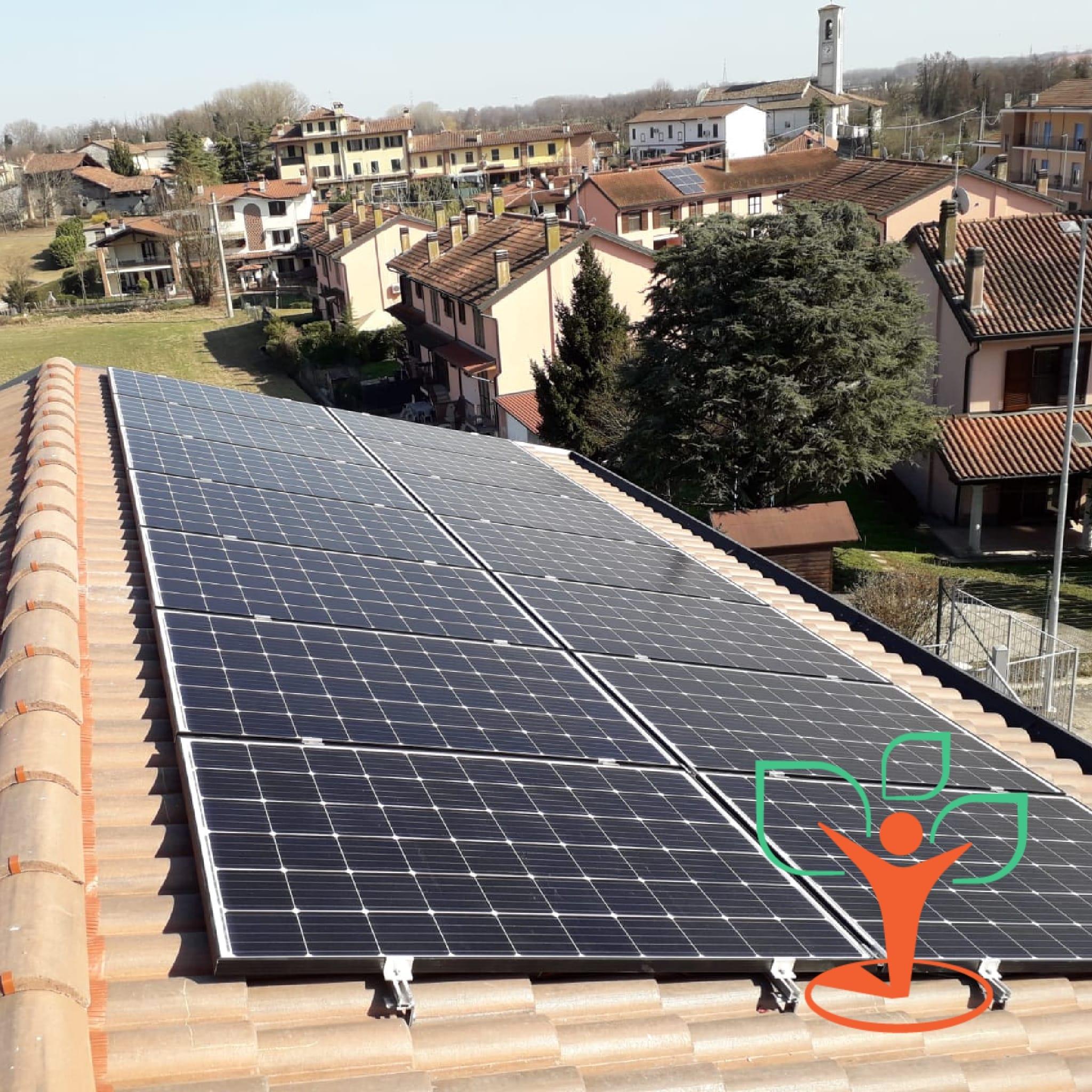 Installazione impianto fotovoltaico JA Solar da 4,2 kWp a Galgagnano (LO)